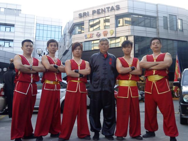 Martial Art Performance Photo 1 at Television Station