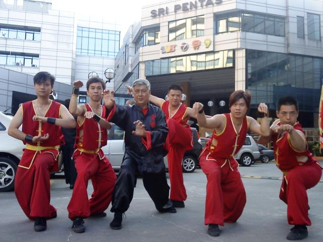 Martial Art Performance Photo 2 at Television Station