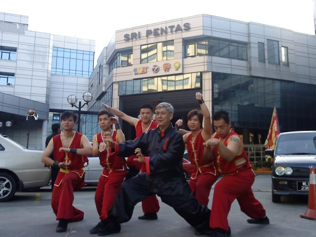 Martial Art Performance Photo 3 at Television Station