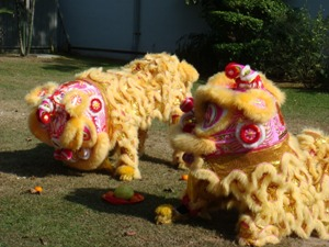 Lion Dance Performance Photo 1 at United States Embassay