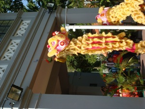Lion Dance Performance Photo 5 at United States Embassay